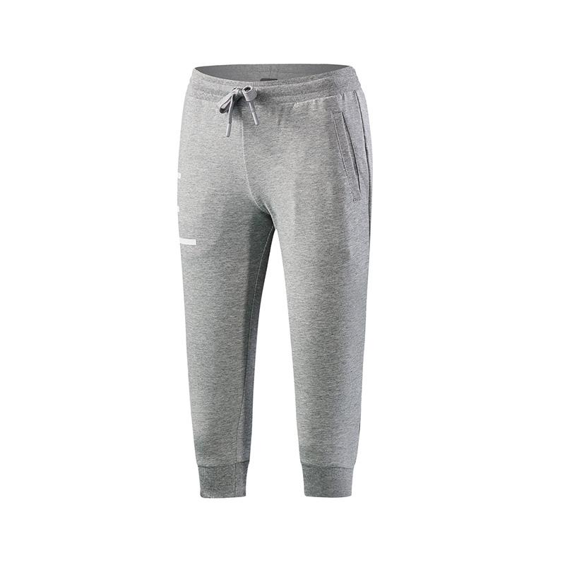 特步 专柜款 女子针织七分裤 都市休闲舒适女裤982228620263