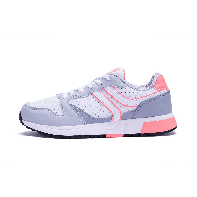 特步 专柜款 女子休闲鞋 时尚柔软垫舒适π鞋 983418326155