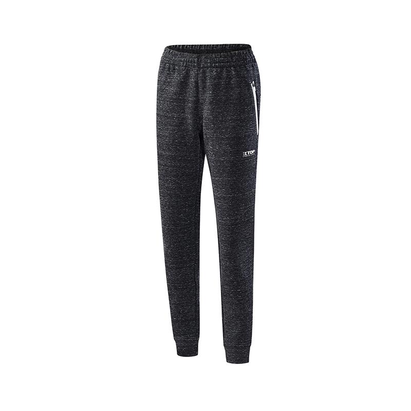 特步 女子针织长裤   都市系列舒适运动休闲裤子882328639025