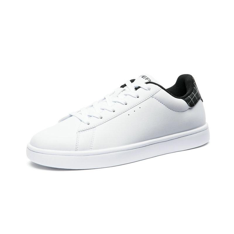 特步 专柜款 板鞋运动鞋小白鞋2018年秋季新款时尚舒适轻便校园官方正品982319316015