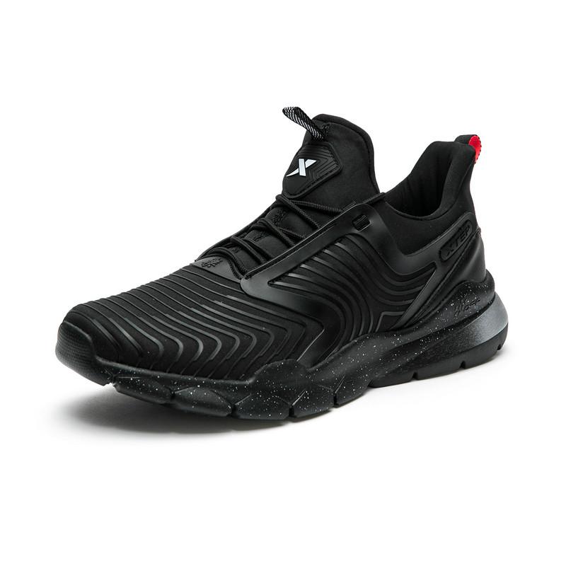 特步  专柜款 男子篮球鞋气垫减震耐磨专业篮球场地鞋新款上市982319326708