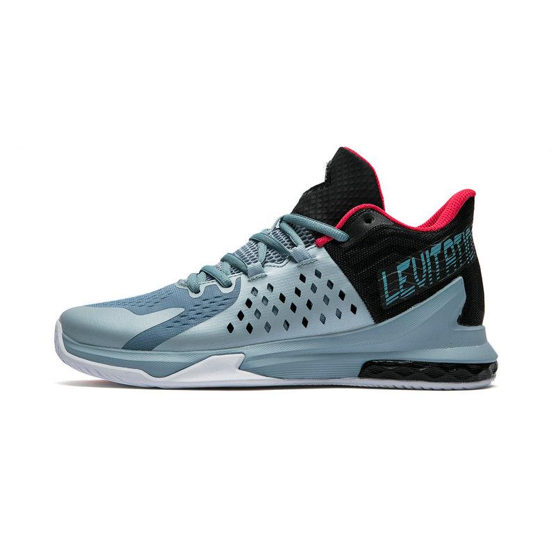 特步 专柜款 男子新款减震耐磨篮球鞋982219121177
