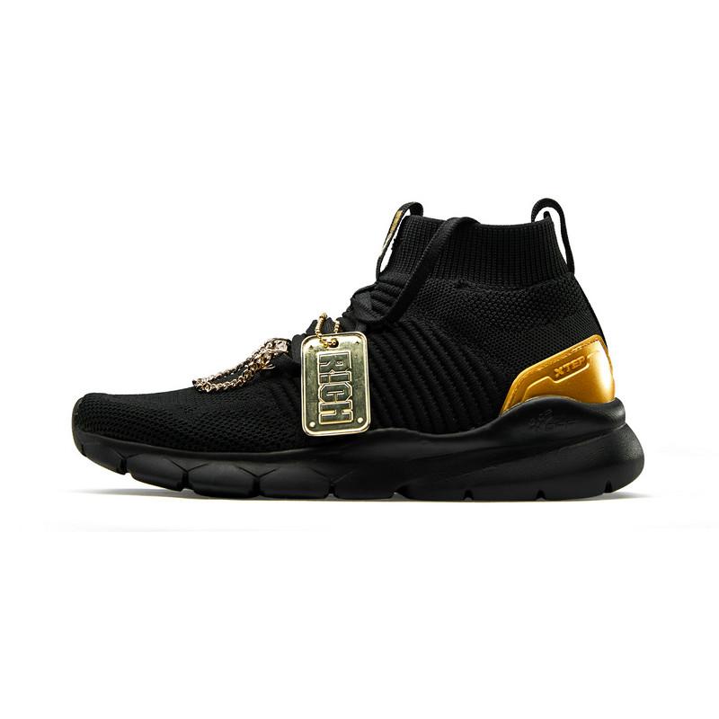 【中国新说唱】特步 专柜款 女子休闲鞋 潮流嘻哈酷鞋982318326888