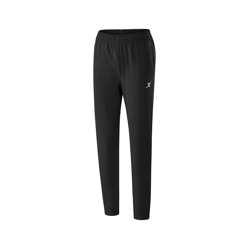 特步 男子梭织单裤  舒适基础运动裤子882329499076