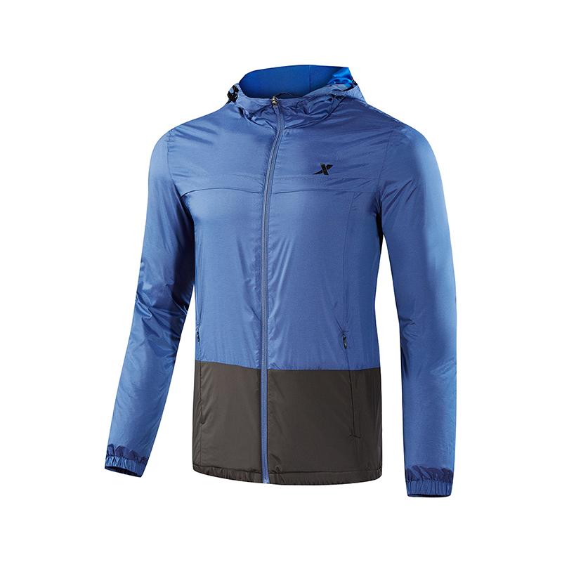 特步 男子保暖夹克 舒适基础运动上衣882329139093