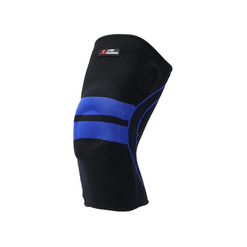特步 专业竞技运动护膝2018夏季新款男女通用篮球足球单只装护具882337329013