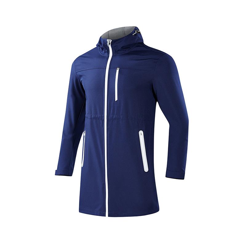 特步 男子单风衣  都市系列时尚舒适休闲外套882329149003