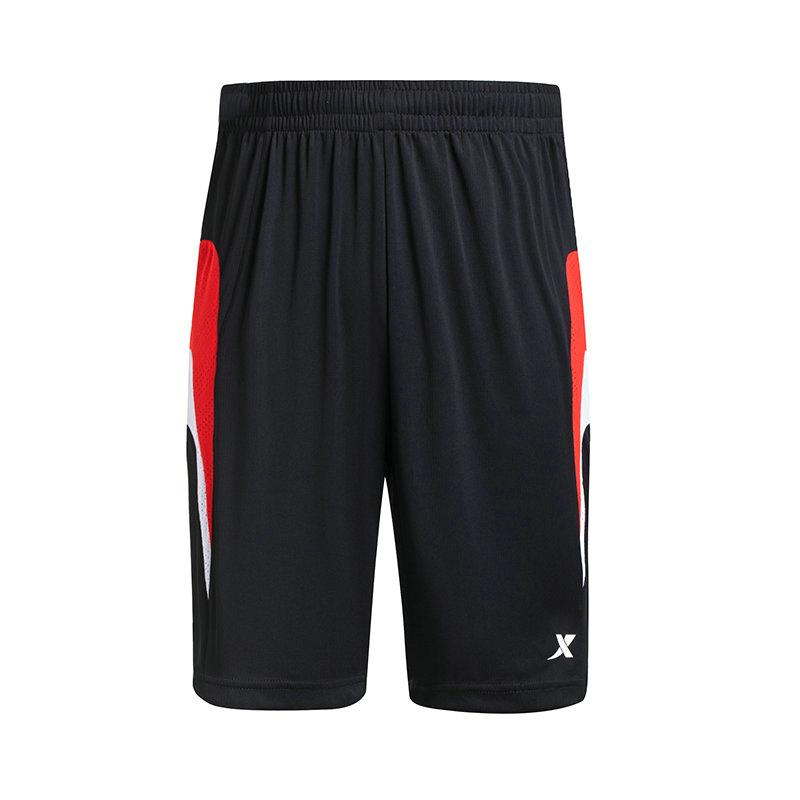 特步 专柜款   秋季男子篮球裤子 宽松运动篮球比赛套装裤子984329680002