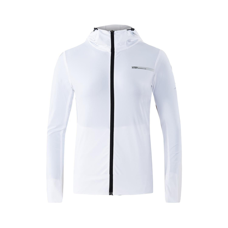 特步 专柜款 女子外套2018夏季新款舒适运动外套风衣时尚简约 982328061621