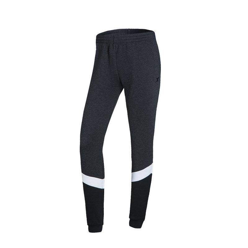 特步 女针织长裤 休闲健身训练跑步裤882128639113