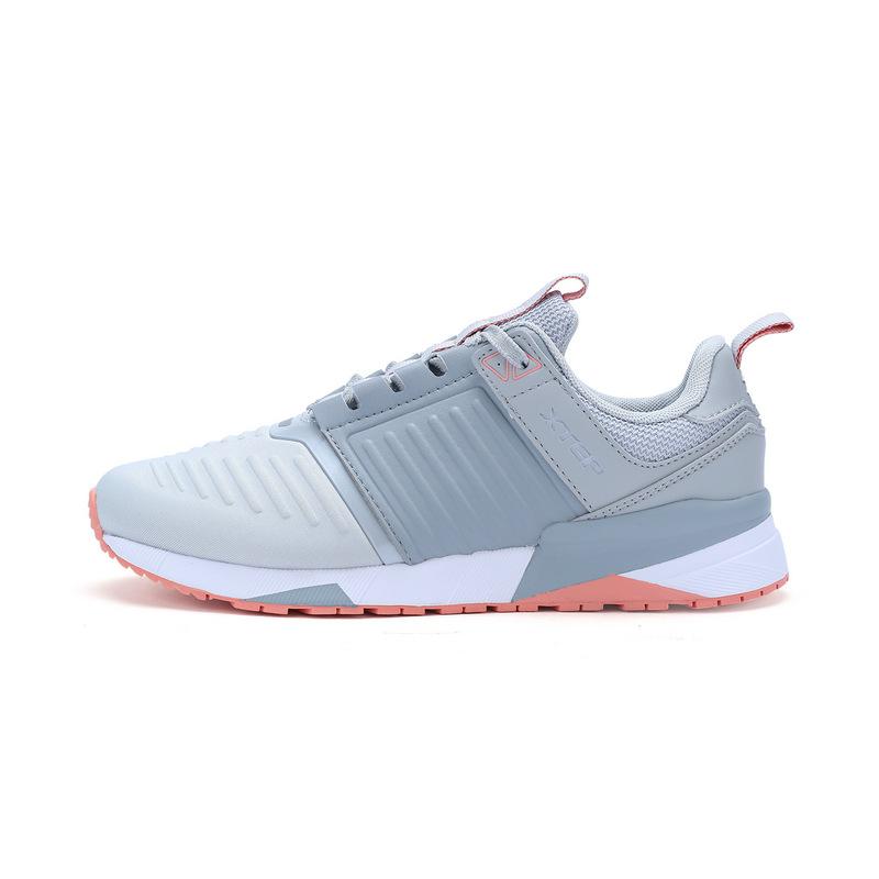特步 专柜款 女子春季休闲鞋 简约休闲女鞋982118326503
