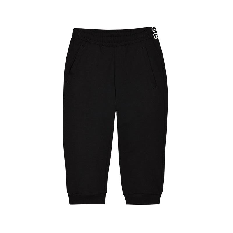 特步 专柜款 女子都市时尚运动休闲七分裤982228620260
