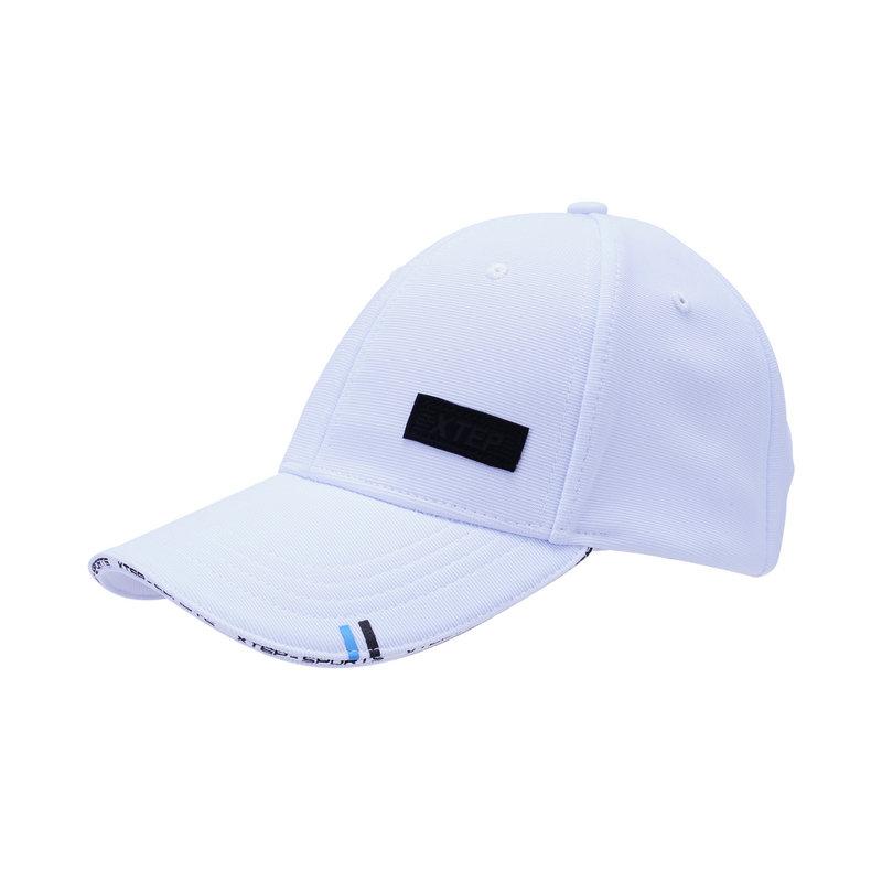 特步 男女运动帽 简约潮流时尚鸭舌帽882237219012