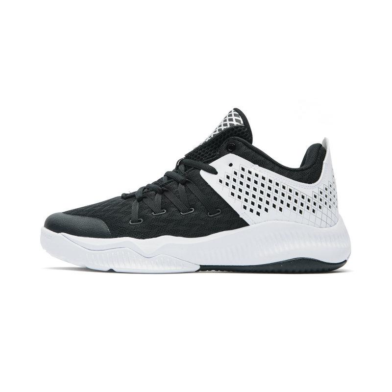 特步 专柜款 男子篮球鞋 时尚透气耐磨系带运动鞋982219121175