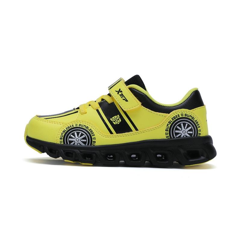 【变形金刚】特步 专柜 男童秋季跑鞋 17新品变形金刚 潮流儿童跑鞋683315113287
