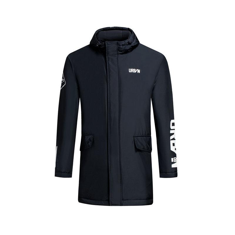 特步 专柜款 男子厚棉服冬季款 都市保暖外套983429180930