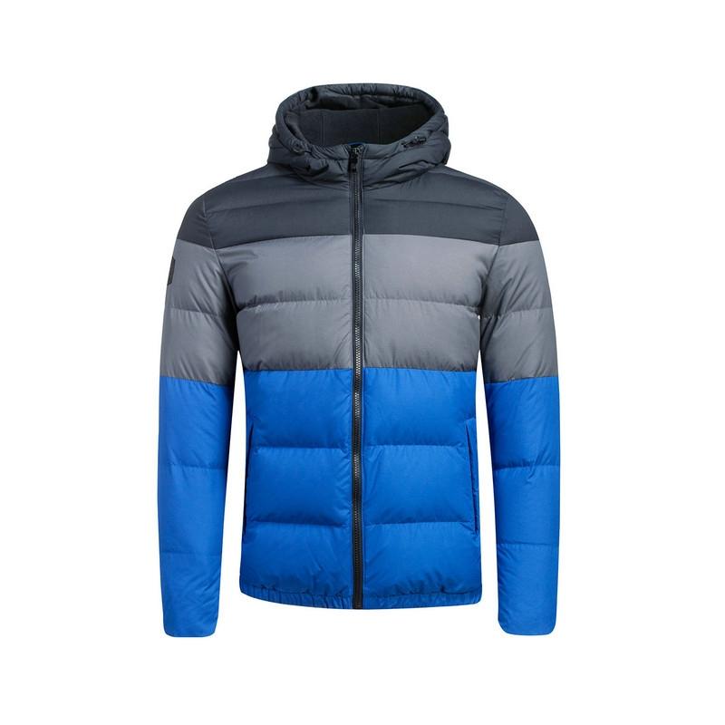 特步 专柜款   男子羽绒服  时尚校园保暖带帽 男外套984429190521