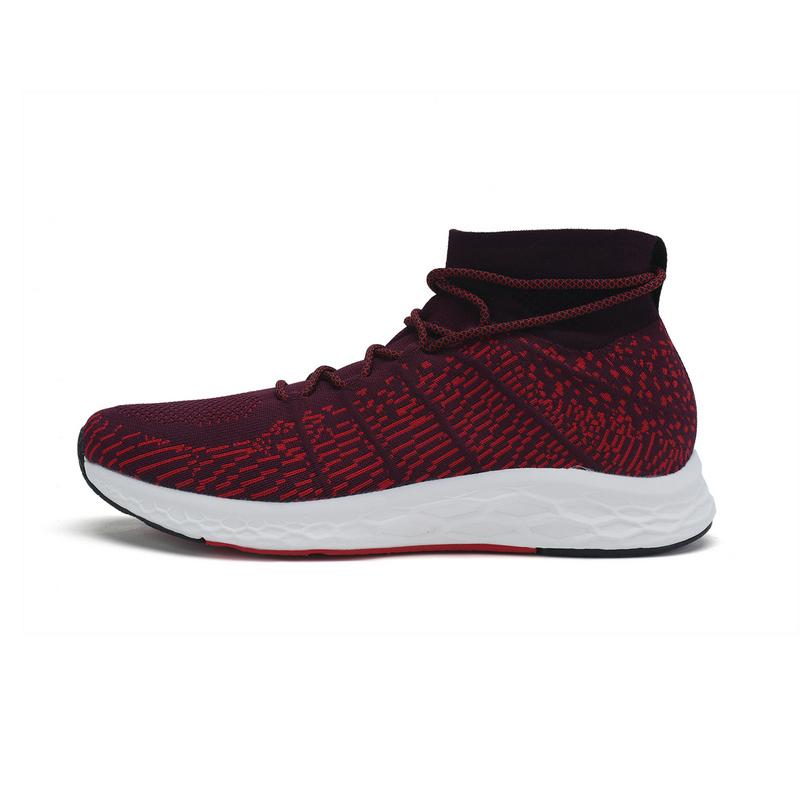 特步 专柜款 男子春季跑步鞋 袜套式动力巢科技跑步鞋982119116767