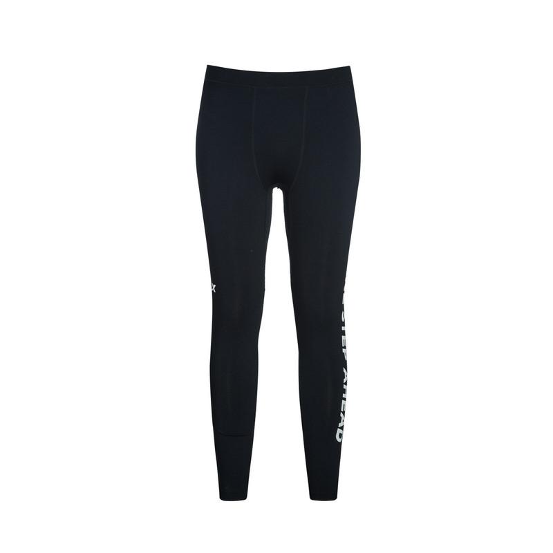特步 专柜款 男子春季长裤 弹性透气运动 男子专业紧身裤983129580048
