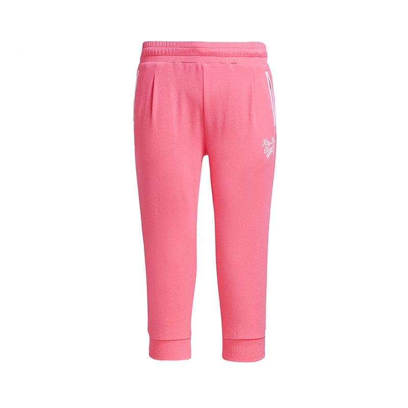 特步 专柜款  夏季新款女运动裤 时尚休闲七分裤 女款休闲中裤984228620169