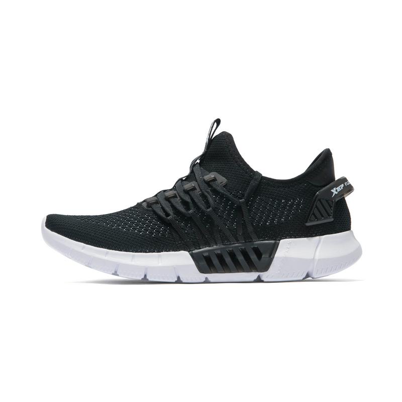 特步 专柜款 男子夏季跑步鞋 网面透气时尚男鞋982219116999
