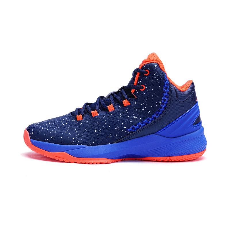 特步 专柜款 男子篮球鞋秋冬款 舒适耐磨弹力运动鞋983419121071