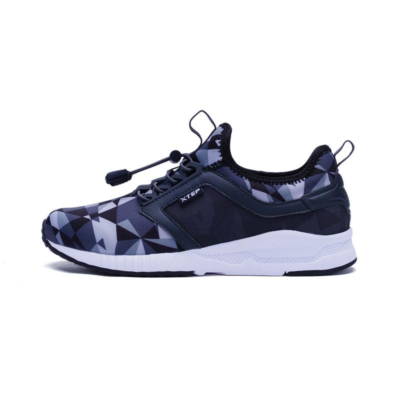 特步  男童冬季休闲鞋 学生校园百搭舒适男鞋683415329112