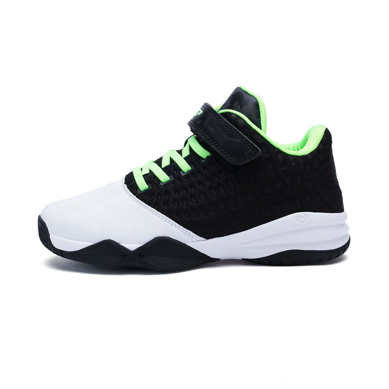 特步 专柜款 男童春季篮球鞋682115125186