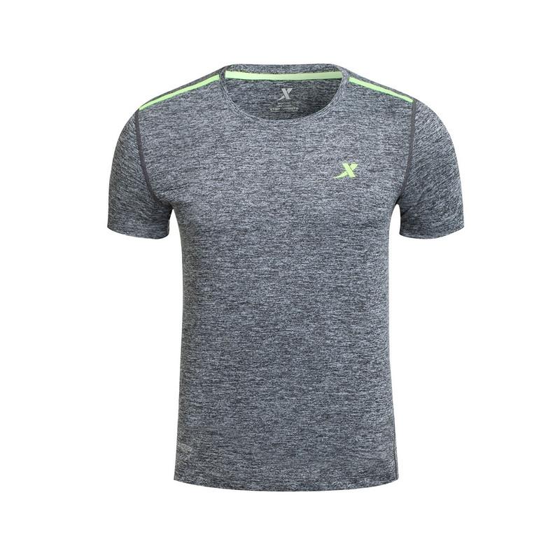 【明星同款】特步 专柜款 男子夏季T恤 汪东城同款运动健身短袖针织衫983229011757