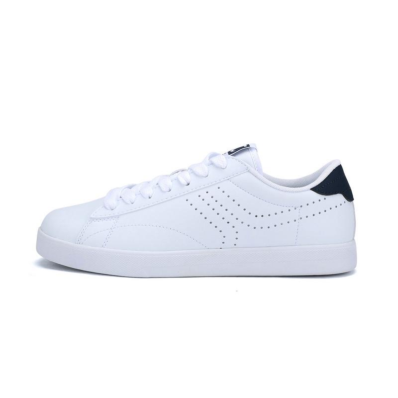 特步 专柜款   新款男子板鞋简约百搭π鞋小白鞋983119315572