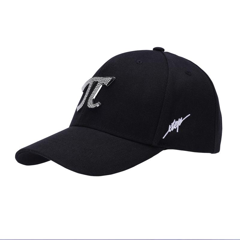 特步 专柜款 男女运动帽 简约π平檐帽982137211481