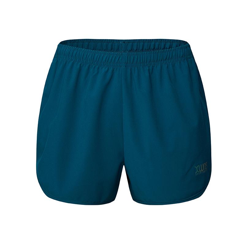 特步 女子梭织短裤 运动训练健身短裤882228679195