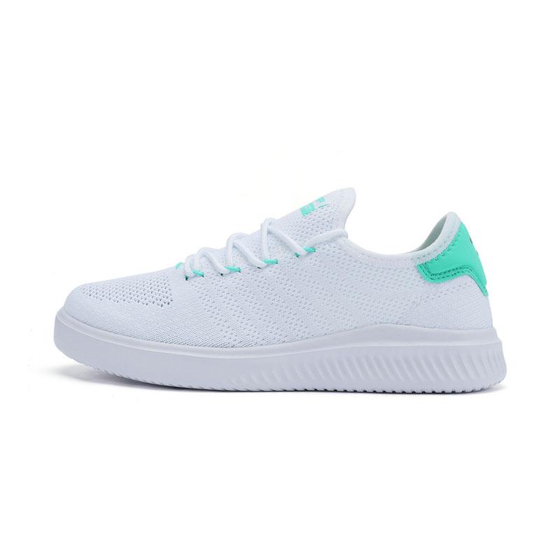 特步 专柜款 女子夏季板鞋 网面一脚蹬女鞋982218315962