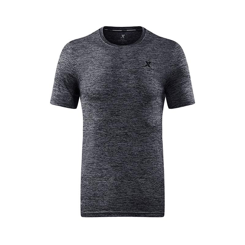 特步 专柜款 男子夏季T恤 健身综训透气男装982229012088