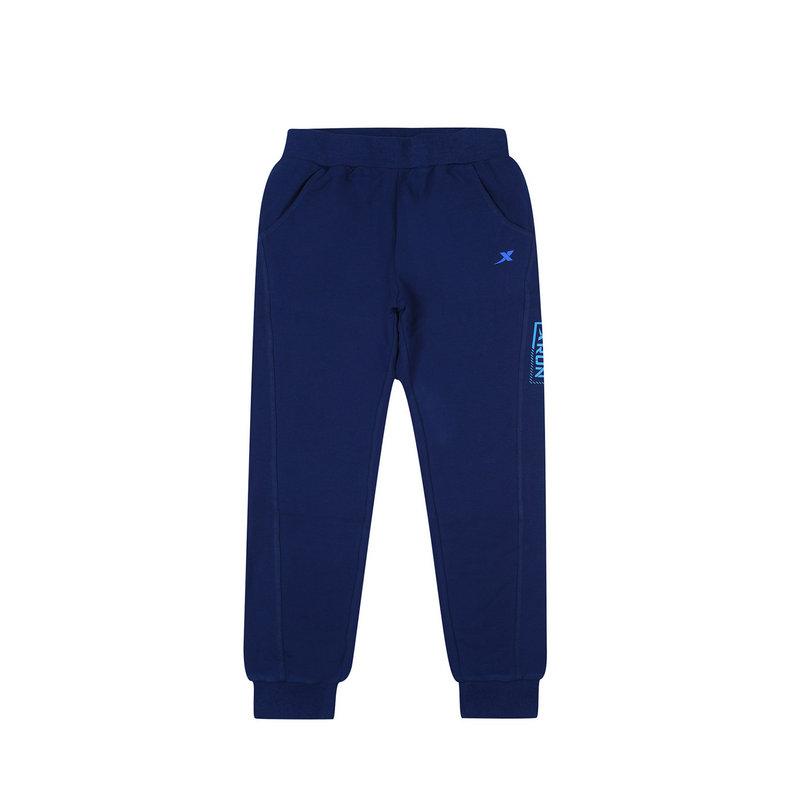 特步 专柜 男童秋季针织长裤 17新品休闲运动舒适 学生大童长裤683325634009