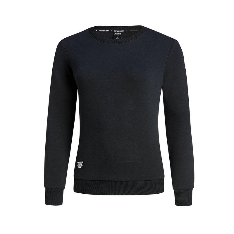 特步 专柜款 女子冬季卫衣  都市休闲套头长袖983428051534