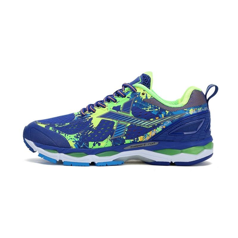 特步 专柜款  女子跑步鞋缓震耐磨竞训300马拉松跑步鞋983118116295