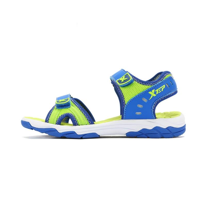 特步 男童凉鞋17夏季新品 防滑耐磨男童沙滩鞋683215509375