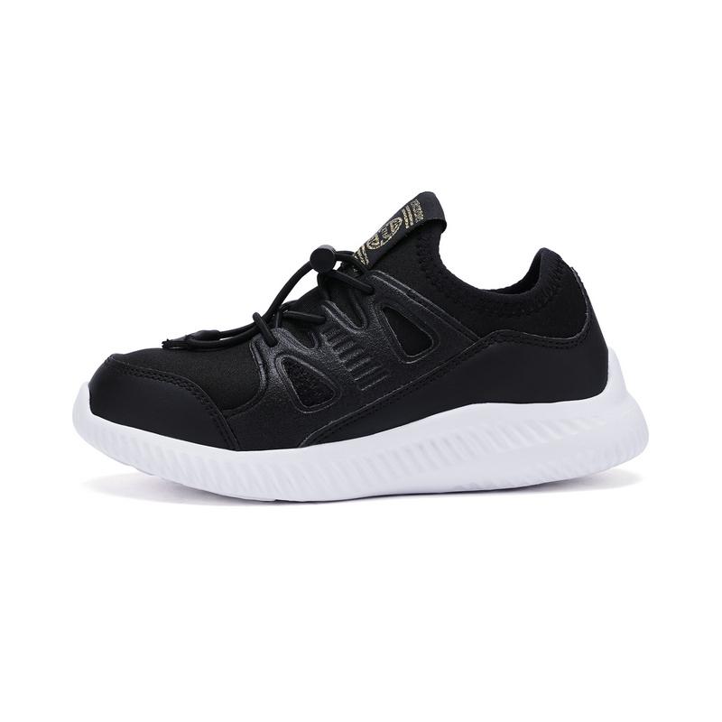 特步  男女童健康鞋 专柜春季潮酷舒适鞋子682116613013