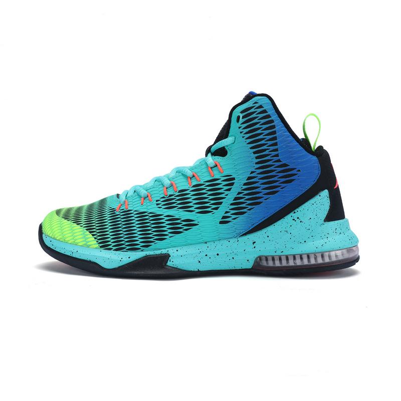 特步 专柜款 男子篮球鞋秋冬款 气垫专业大底运动鞋983419121072