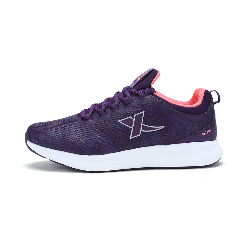 特步 专柜 女子冬季跑鞋 舒适跑步运动鞋983418116597