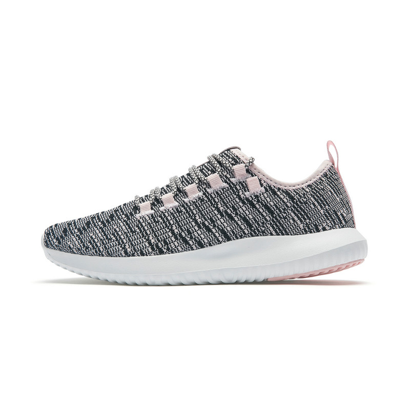 特步 专柜款 女子夏季休闲鞋 透气网面休闲鞋982218326633