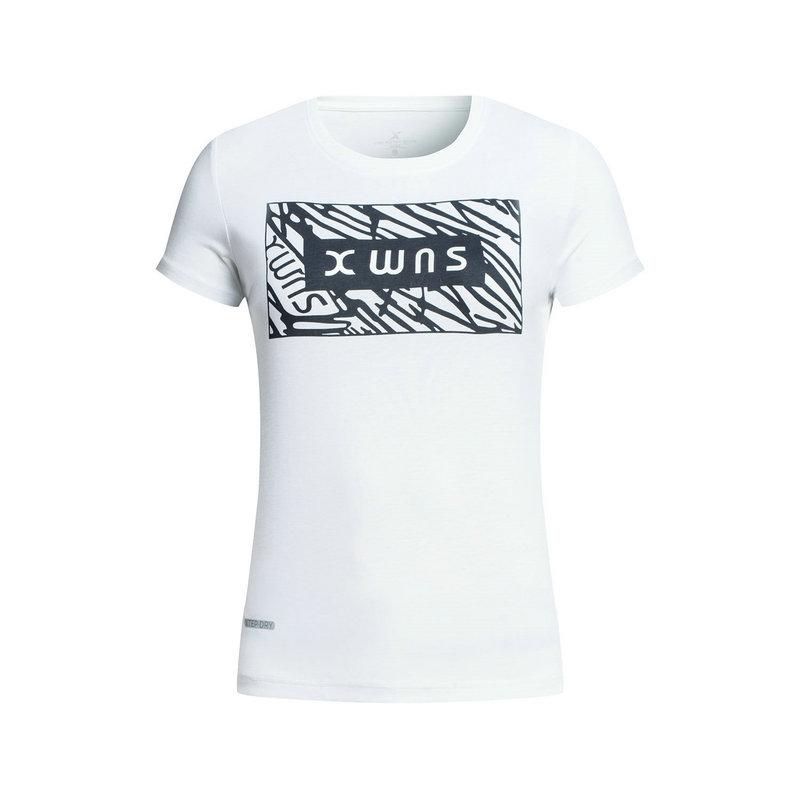 特步 专柜款 女子运动T恤 新品同综训运动983328011873