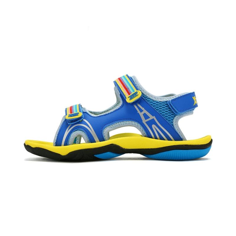 特步 男童沙滩鞋17夏季新品 时尚防滑耐磨男童鞋683215509376