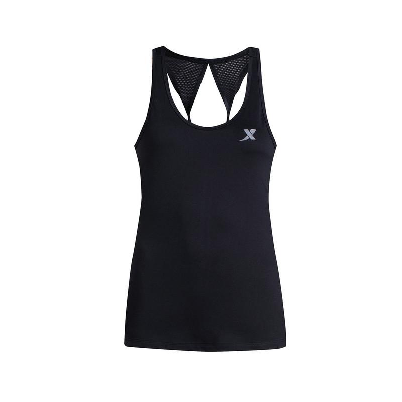 特步 女子夏季背心 舒适运动女上衣883228099020