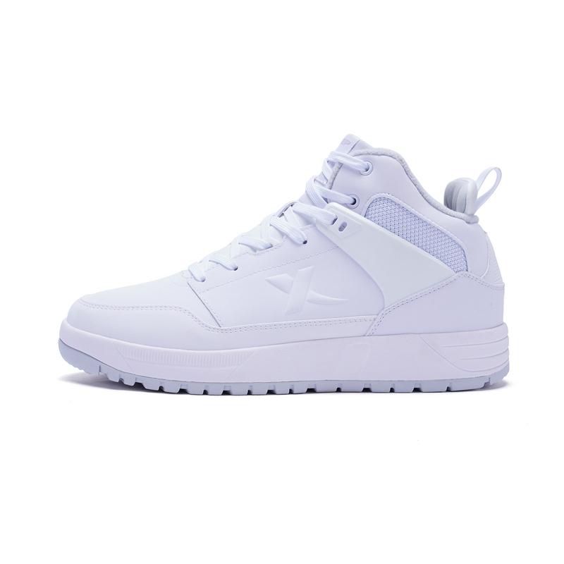 特步 男子棉鞋 冬季新款 高帮保暖舒适耐磨时尚休闲鞋983419379091