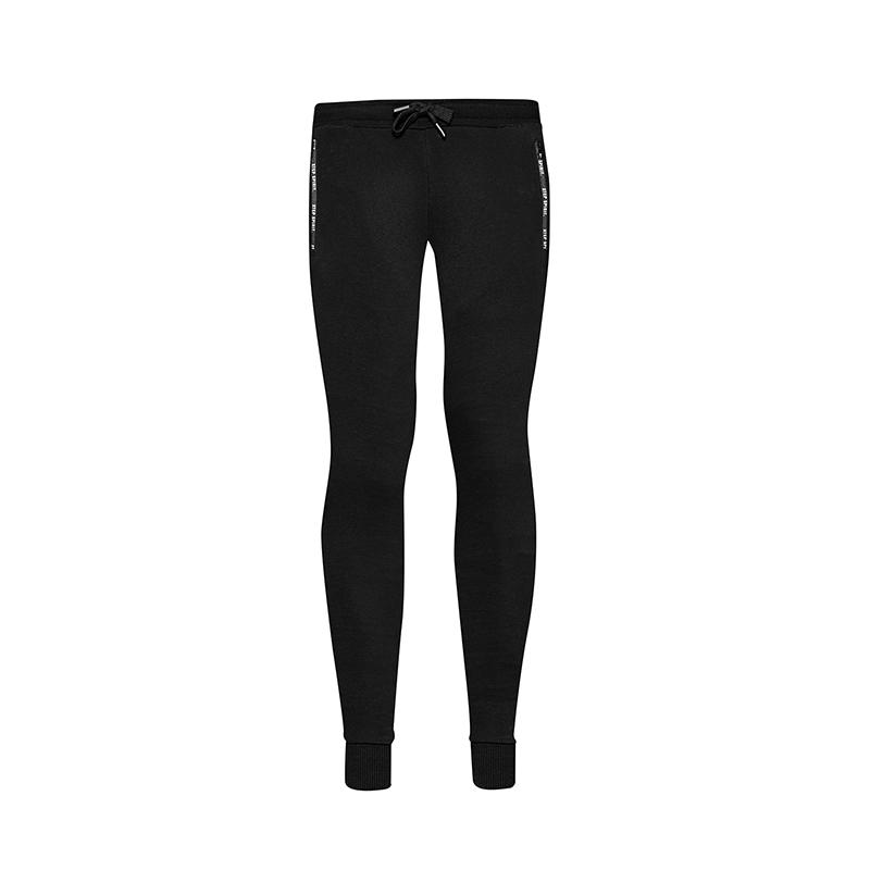 特步 专柜款 女子春季针织长裤982128631331