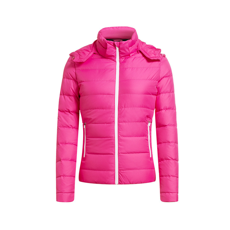特步 专柜款   女子冬季羽绒服 保暖时尚舒适外套984428190524
