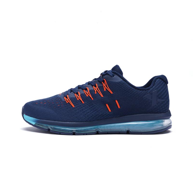 特步 专柜款 男子春季跑鞋 气能环科技气垫跑鞋982119110056