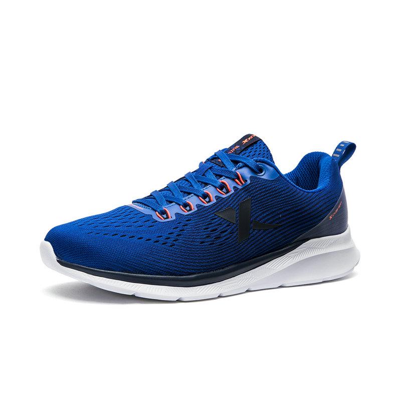 特步 专柜款 男子运动跑步鞋2018夏季新品时尚舒适轻便耐磨男子运动鞋 982319110066